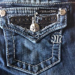 Miss Me size 12 Girls Jeans Like New! Sparkling!